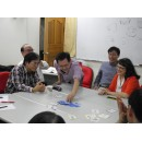 Cards for corporate training in creative thinking