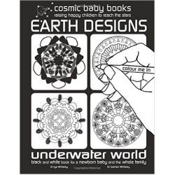 Earth Designs: Underwater World Colouring Book